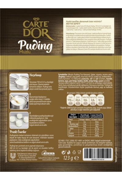 Carte D'or Puding Muzlu 123 gr