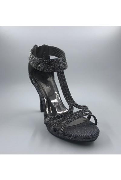 Kriste Bell Bilekten Önü Direkli Abiye Ayakkabı
