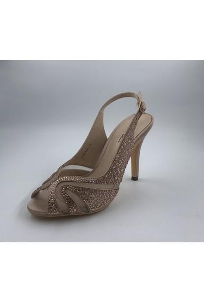 Kriste Bell Taşlı Kadın Abiye Ayakkabı