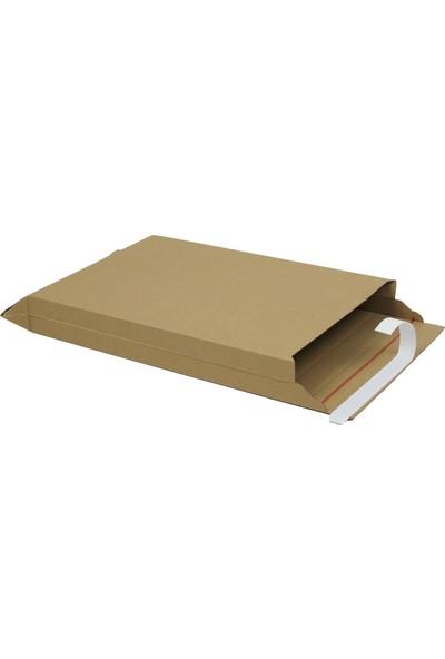 Baskısız Bant Yapıştırmalı Zarf 21,5X31X5 cm - 25 Adet