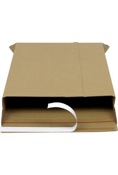 Baskısız Bant Yapıştırmalı Zarf 22X30X3,5 cm - 25 Adet