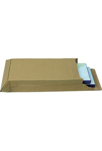 Baskısız Bant Yapıştırmalı Zarf 15X24X5 cm - 25 Adet