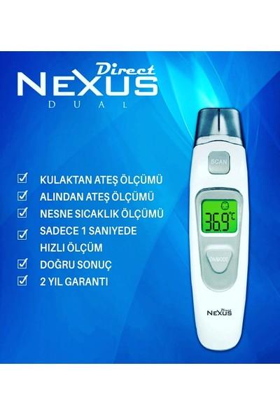 Direct Nexus Dual Kulaktan & Alından Ateş Ölçer