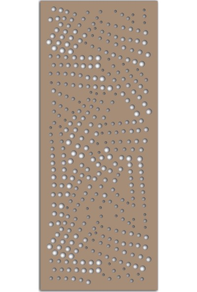 Liar Ahşap Seperatör (Paravan) - KSP-58 - (10 mm) - (85 cm x 210 cm) - (Ham)
