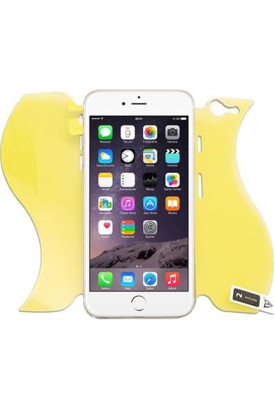Monsterskin Apple iPhone 6 Plus / 6s Plus Full Body Süper Darbeye Dayanıklı 360 Derece Tam Koruma Ekran Koruyucu