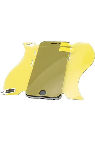 Monsterskin Apple iPhone 8 Full Body Süper Darbeye Dayanıklı 360 Derece Tam Koruma Ekran Koruyucu