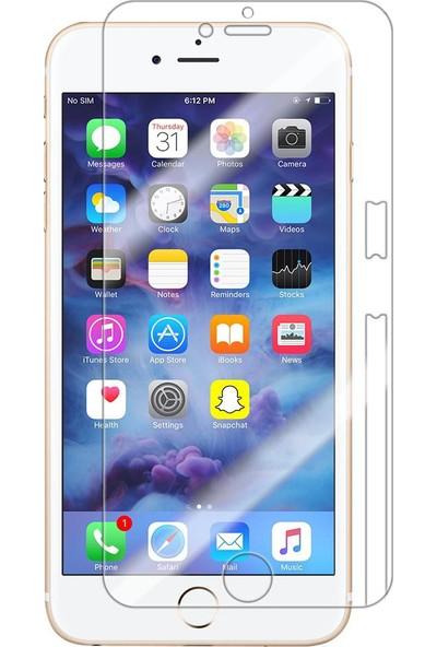 Monsterskin Apple iPhone 8 Plus Full Body Süper Darbeye Dayanıklı 360 Derece Tam Koruma Ekran Koruyucu