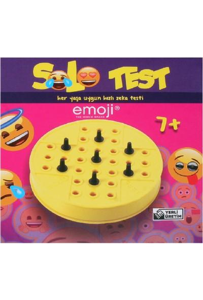 Emoji 12 Adet Solo Test Zeka Oyunu