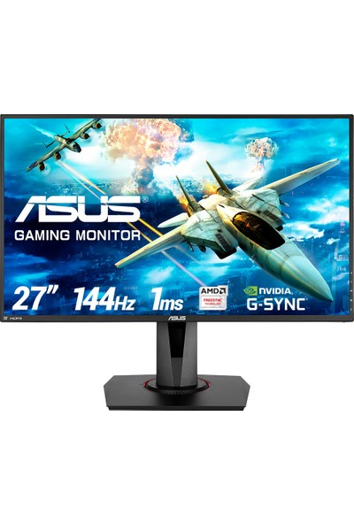 "Asus VG278Q 27"" 1ms (Display+HDMI+DVI-D) FreeSync/GSync LED Oyuncu Monitör"