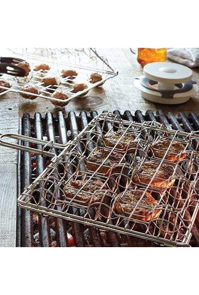 Mutfak Sepeti Çelik Köfte Barbekü Izgarası