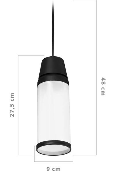 Asz Kapsul Ağaç Feneri Beyaz 9'lu