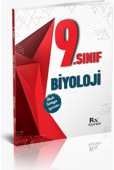 Fix Yayınları Konu Anlatımlı Biyoloji 9. Sınıf
