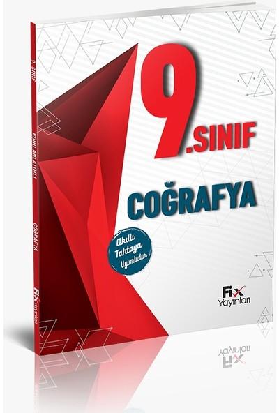 Fix Yayınları Konu Anlatımlı Coğrafya 9. Sınıf