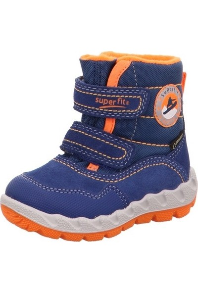 Super Fit Çocuk Bot Blau Orange Velour Tecno Tex Icebird 013.81