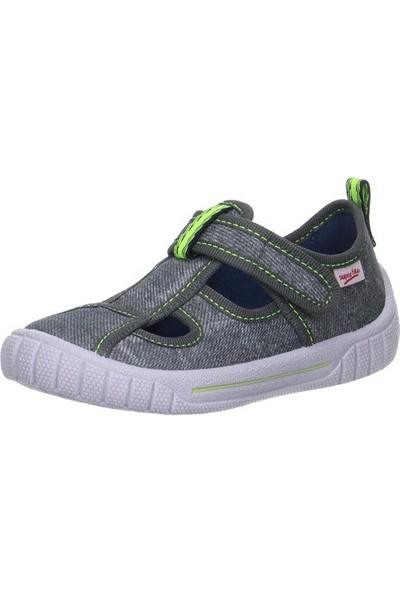 Super Fit Erkek Çocuk Ev Ayakkabısı Stone Kombi Textil Bill