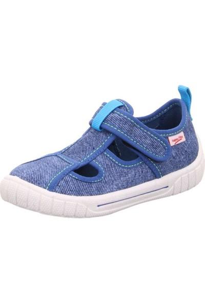 Super Fit Erkek Çocuk Ev Ayakkabısı Blau Textil Bill
