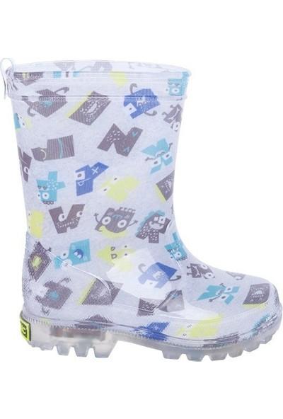 Tuc Tuc Erkek Çocuk Işıklı Yağmur Botu Abc Monsters