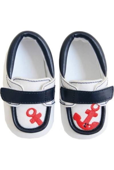 Tuc Tuc Bebek Çapa Desenli Ayakkabı Ancla
