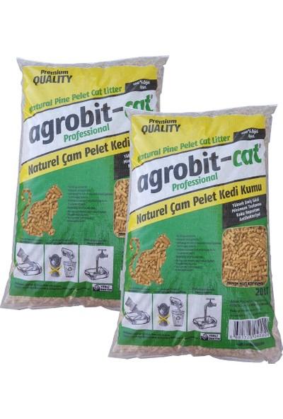 Agrobit Cat Kedi Kumu Çam Pelet 2 x 20 lt 6601-08