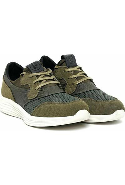 Pierre Cardin P9512H Yeşil Keten Erkek Ayakkabı