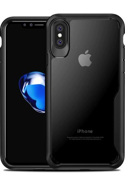 GerTong Apple iPhone XS Max Koruyucu Kılıf - Siyah