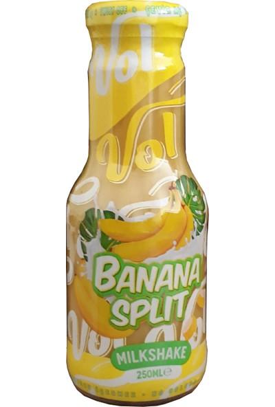 Vol Banana Split Muzlu Milkshake 250ml 12'li