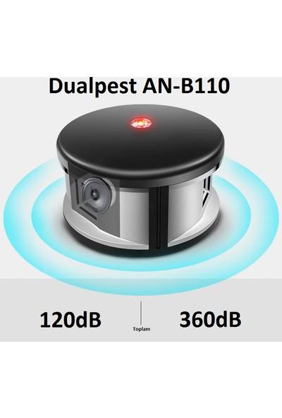 Dualpest An-B110 Ultrasonik 360 Derece Fare Kovucu - Haşere Sinek Böcek Kovucu