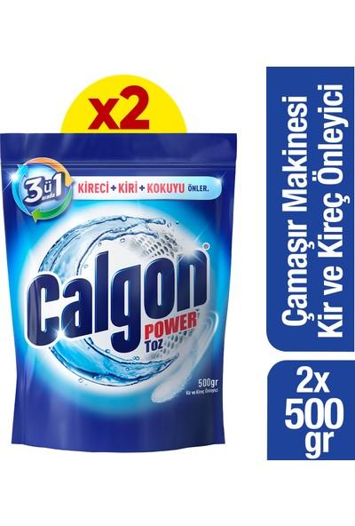Calgon Çamaşır Makinesi Kireç Önleyici Toz 500 gr x 2 Adet