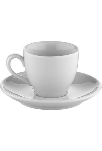 Kütahya Porselen Lima Kahve Fincan Takımı 6 lı Sade