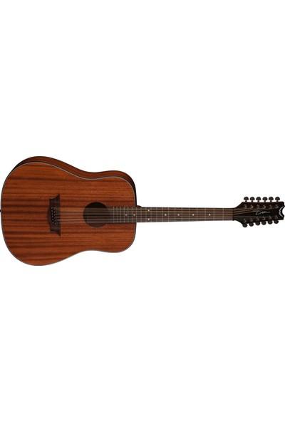 Dean Guitars AXD12MAH AXS Dreadnought 12 Telli Akustik Gitar (Mahogany)
