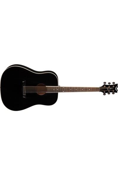 Dean Guitars AXDMAHCBK AXS Dreadnought Akustik Gitar (Classic Black)