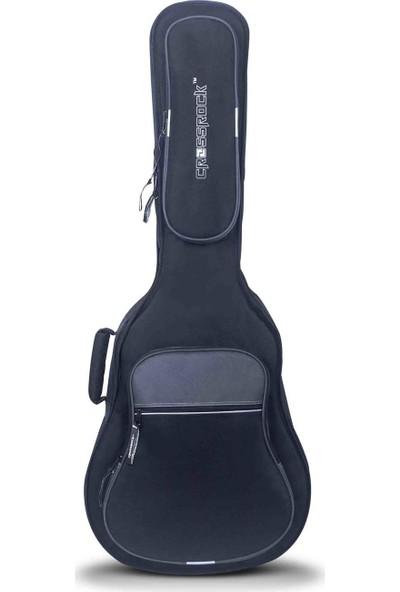 Crossrock Cases CRSG306EBG 30mm Süngerli Elektro Gitar Gig-Bag (Siyah-Gri)