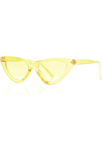 By Harmony Bh 9788 Sarı Kadın Güneş Gözlüğü