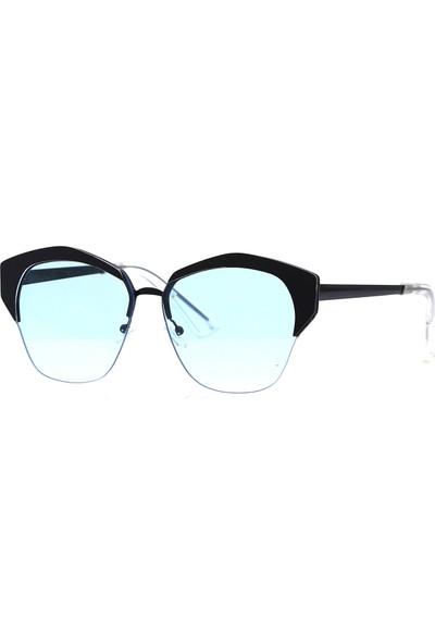 By Harmony Bh 3030 Mavi Siyah Kadın Güneş Gözlüğü