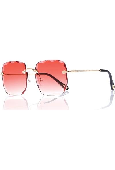By Harmony Bh Cristal 8 Kırmızı Kadın Güneş Gözlüğü