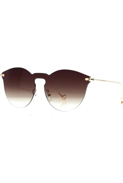By Harmony Bh 17062 Kahverengi Kadın Güneş Gözlüğü