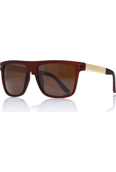 By Harmony Bh EX675 Kahverengi Erkek Güneş Gözlüğü