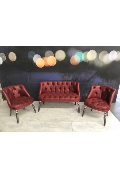 Classico Furniture Çay Seti Koltuk Takımı