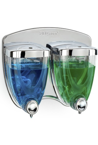 Flosoft Sıvı Sabunluk 2'li 350 + 350 ml Krom F038