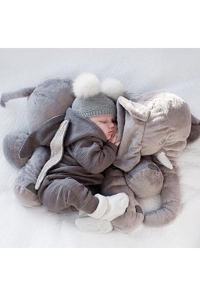Özgüner Uyku Arkadaşım Peluş Fil Oyuncak 60 cm