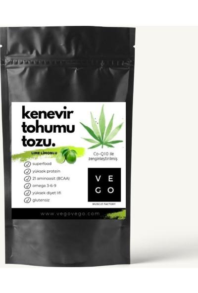 Vegovego Kenevir Protein Tozu Koenzim Q10 Lime Limonlu - 100 g