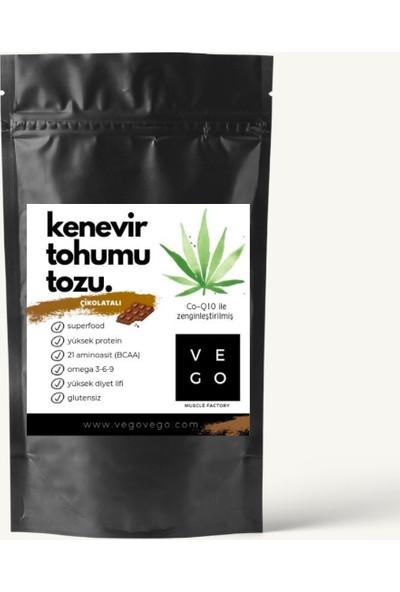 Vegovego Kenevir Protein Tozu Koenzim Q10 Çikolatalı - 100 g