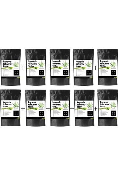 Vegovego Kenevir Kendir Tohumu Tozu - Lime Limon Aromalı - 10 Adet