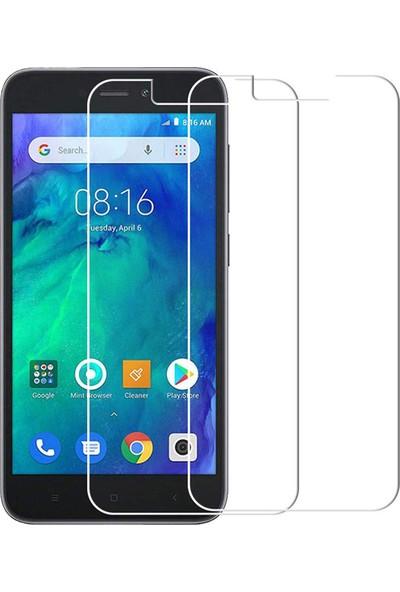 Case 4U Xiaomi Redmi Go Cam Ekran Koruyucu Temperli Cam Şeffaf