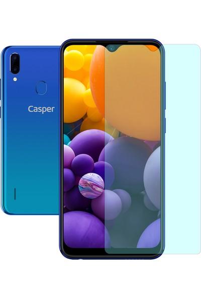 Case 4U Casper Via G4 Cam Ekran Koruyucu Temperli Cam Şeffaf