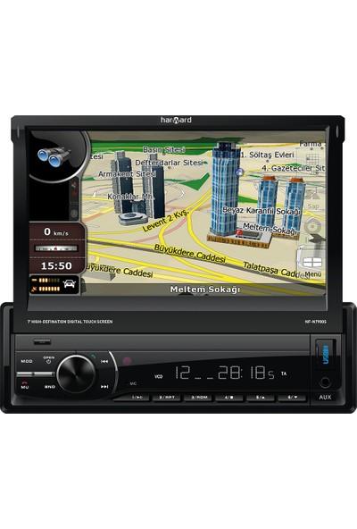 Harward Ht-Btg706 Double Ekran Oto Teyp Navigasyon Özellikli + Arka Görüş Kamera