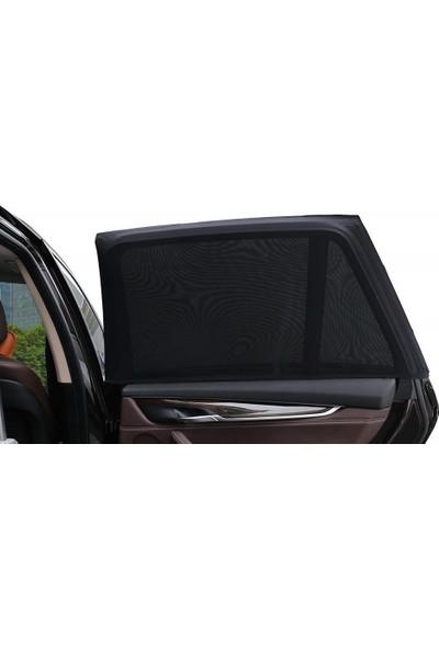 Automodfy Araç Oto Yan Cam Güneşlik 2Li Araba Perdesi Oto Koku Hediyeli