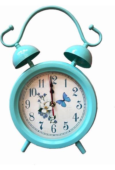 Jaka 00148 - Mavi Ayaklı Masa Saati