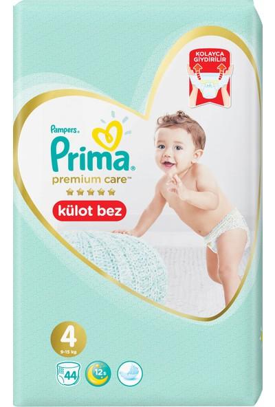 Prima Premium Care Külot Bebek Bezi 4 Beden 44 Adet Maxi İkiz Paket