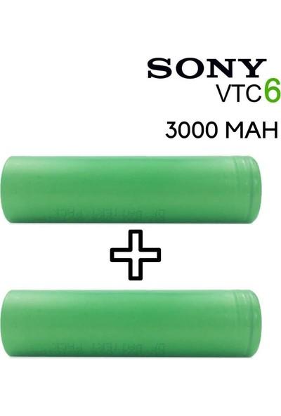 Sony Vtc6 18650 3.7V 3000 Mah Li-Ion 2'li Şarjlı Pil